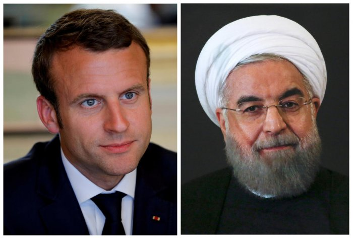 Macron assured Rouhani of France's desire to keep the nuclear accord alive and pressed Tehran to do the same. (Reuters file photo)
