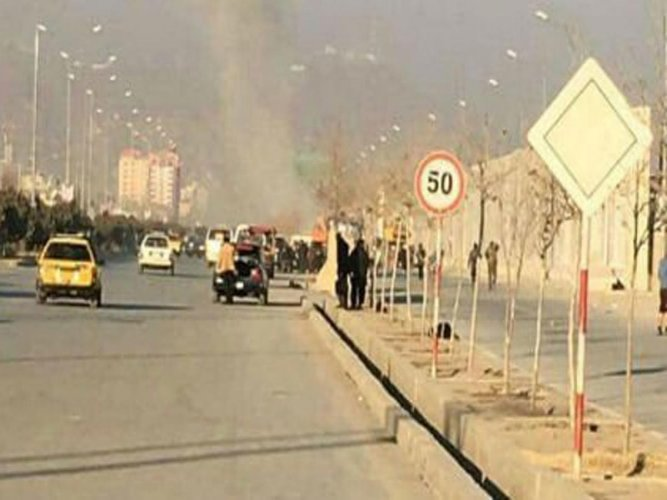 A series of huge explosions rocked Kabul today. File photo for representation