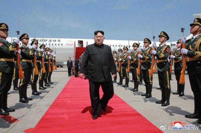 Kim Jong Un, image courtesy Twitter