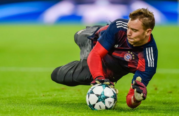 Recovering Bayern Munich's German goalkeeper Manuel Neuer has expressed his doubt over his participation in this year's World Cup in Russia. AFP