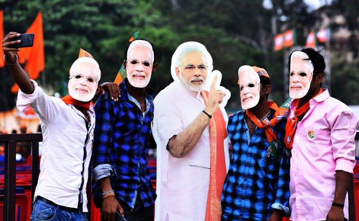 On his Karnataka campaign, Prime Minister Modi has worn a Mysuru turban, quoted Kannada poets and met Karnataka holy men.