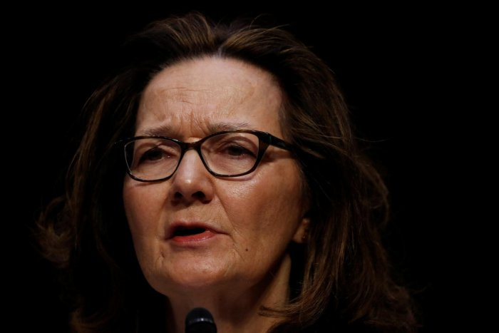 CIA Director nominee Gina Haspel testifies at her confirmation hearing before the Senate Intelligence Committee on Capitol Hill in Washington. Reuters