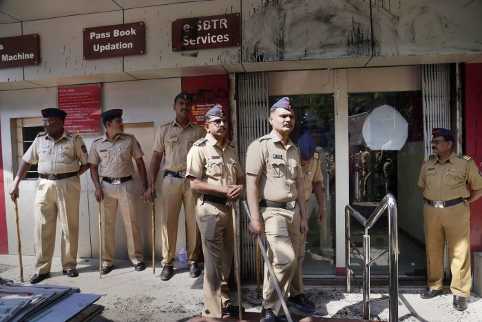 In his letter to department superiors, constable Dnyaneshwar Ahirrao has asked permission to beg to take care of his ailing wife and manage household expenses. (PTI file photo for representation)