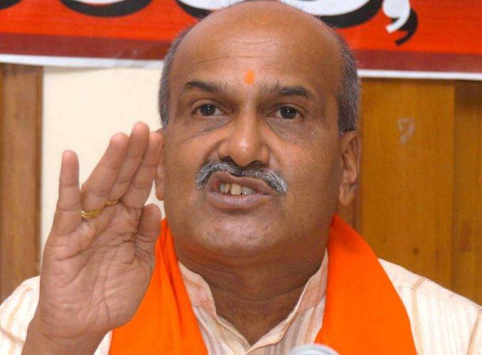 Rashtriya Hindu Sena chief Pramod Muthalik