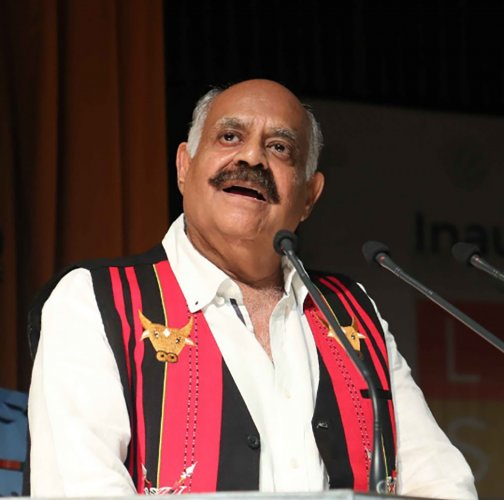 Punjab Governor V P Singh Badnore said the application of technology was evident in ancient times when Lord Rama built a Setu bridge to reach Lanka.