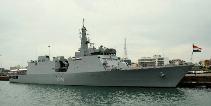 INS Sumedha was sent to the Maldives earlier this week to carry out a joint surveillance of the exclusive economic zone.
