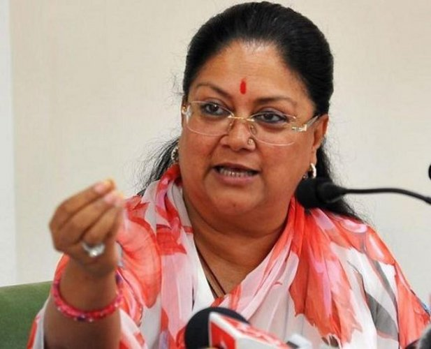 Vasundhara Raje is currently occupying two bungalows, one allotted as the opposition leader where she is currently staying and other, 8 Civil Lines, the official residence of the chief minister.