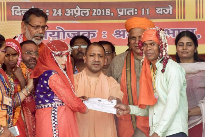 Uttar Pradesh Chief Minister Yogi Adityanath. (PTI File Photo)