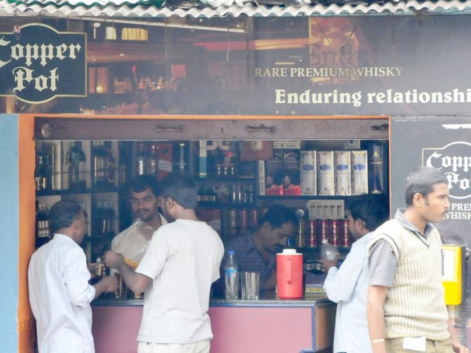 The Supreme Court has asked the Karnataka government to consider the plea of over 1,000 hotels which served liquor to their guests and customers but suffered adverse consequences of the apex court's ban on such vends around national and state highways. File photo