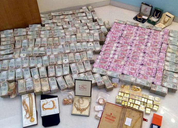 Ever since the model code of conduct was announced in the state, the Election Commission (EC) has seized Rs 91.58 crore cash across the state. PTI file photo for representation