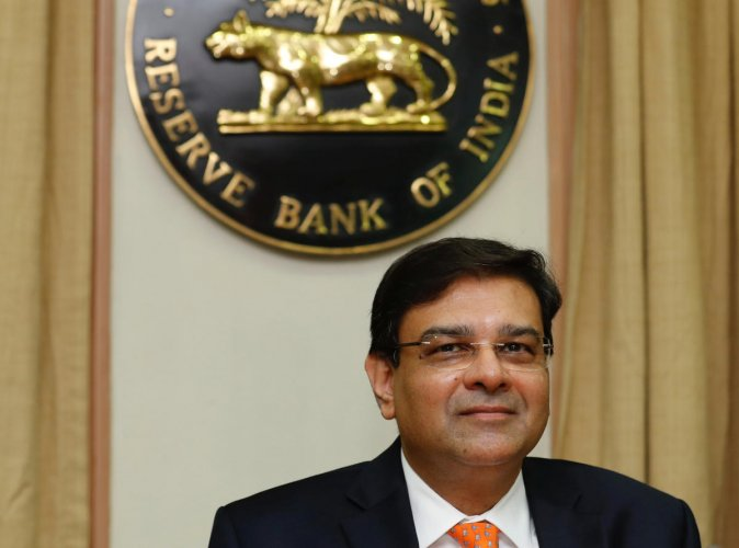 The Reserve Bank of India (RBI) Governor Urjit Patel. Reuters file photo