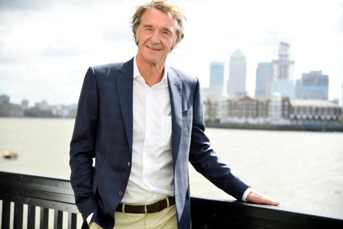 Jim Ratcliffe has jumped to top place from 18th in 2017 by amassing nearly 15.3 billion pounds over the past year. Reuters file photo
