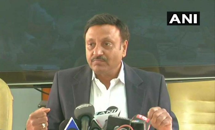 """""""A government nominee on the broad of Allahabad Bank will call a meeting to seek removal of Ananthsubramanian,"""" Financial Services Secretary Rajeev Kumar told reporters here. Picture courtesy ANI"""