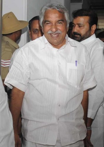 Oommen Chandy. DH Photo
