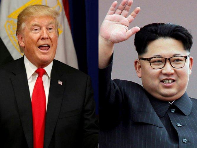 President Donald Trump and North Korean leader Kim Jong Un. File photo