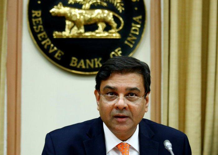 RBI Governor Urjit Patel. REUTERS