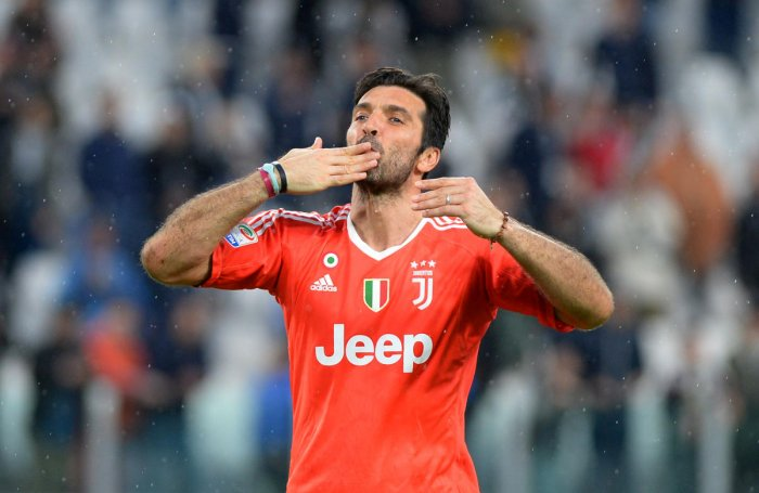 Legend: Juventus' Gianluigi Buffon will make his final appearance for the club against Verona on Saturday. Reuters.
