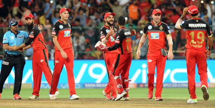 Royal Challengers beat Hyderabad Sunrisers at Chinnaswamy stadium on Thursday. Many fans had to buy tickets in black.