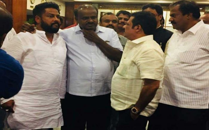 The parties were earlier planning to fly out the legislators to Kochi in Kerala. The JD(S) had even kept three chartered flights ready to ferry the leaders. This plan was, however, foiled as the parties failed to obtain the required permissions to fly out.'