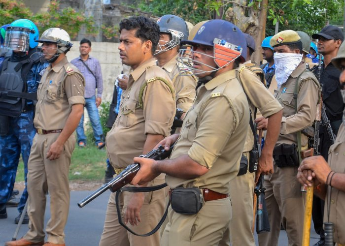 Sanjiv Teotia, a cop in the crime branch, who had a dispute with his colleague over the distribution of the commission, uploaded the entire rate card of the Noida police on the social networking sites. PTI file photo