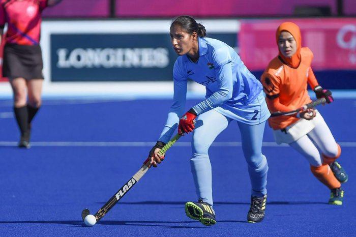 Indian women's team went down 0-1 to Japan in the final of the Asian Champions Trophy. File Photo