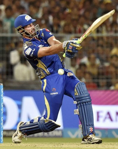 Mumbai Indians' Ben Cutting said their batting lost their way in the middle overs. PTI FILE PHOTO