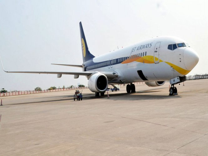 The 37-year-old was arrested followingan emergency landing of the Mumbai-Delhi Jet Airways plane at the Ahmedabad airport after the pilot was informed about a note from the washroom of the plane that mentioned that there were hijackers and a bomb in the cargo area. DH file photo