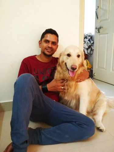 Vikram with Alton