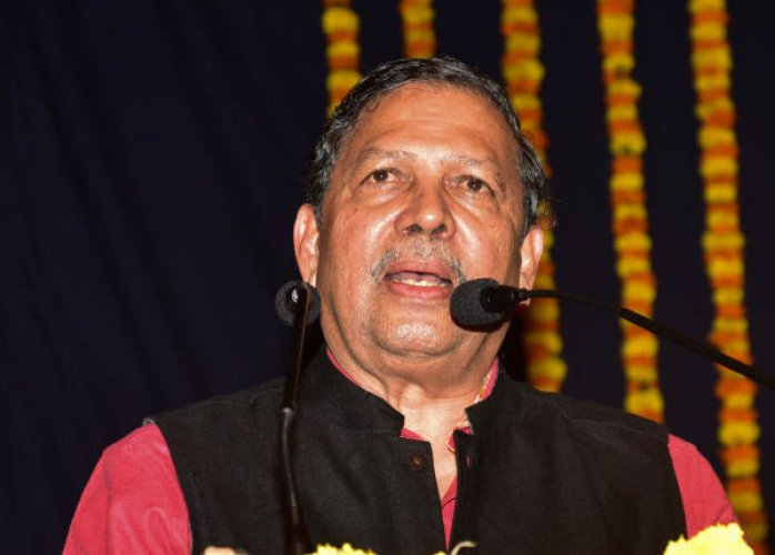 Former Karnataka lokayukta N Santosh Hegde. File Photo