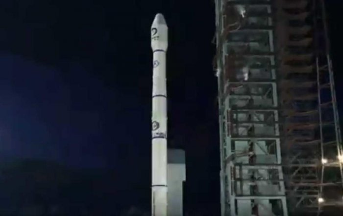 Named Queqiao (Magpie Bridge), the 400-kg satellite has a designed life of three years. (Video grab)