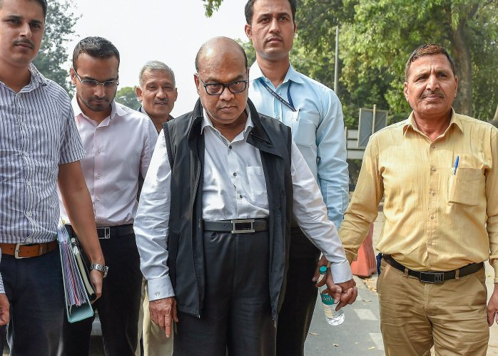 The CBI has charged Vikram Kothari and his son, who are in judicial custody, and others with purported criminal conspiracy, cheating among others and under provisions of the Prevention of Corruption Act. PTI file photo