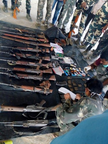 This recovery is a major success on the part of Assam Rifles to thwart nefarious designs of the underground groups, it said. (File photo for representation)