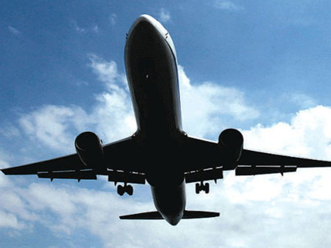 The Ministry of Civil Aviation on Tuesday came out with a draft people's charter that offers a full refund for a flight delayed beyond four hours as well as free hotel accommodation if the flight takes off after midnight. DH file photo