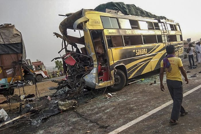 The govt has increased the minimum compensation payable to road accident victims irrespective of their age and income criteria. PTI file photo