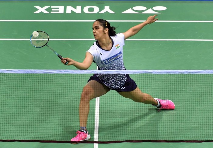 LACKLUSTRE Saina Nehwal had her chances against Akane Yamaguchi but the Indian couldn't cash them in, suffering a three-game defeat. PTI FILE PHOTO