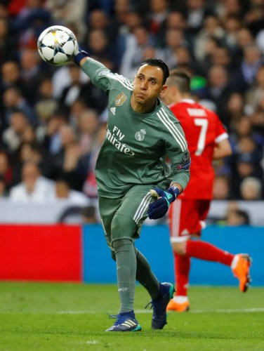 UNDER PRESSURE Real Madrid's Keylor Navas and Liverpool's Loris Karius will have a point to prove when the two sides lock horns in the Champions League final in Kiev on Saturday. REUTERS