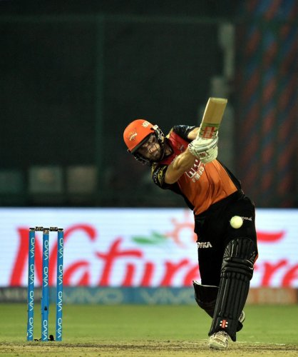 Sunrisers Hyderabad captain Kane Williamson said that his team fell short of 15-20 runs against Chennai Super Kings in the Qualifier 1. PTI FILE PHOTO