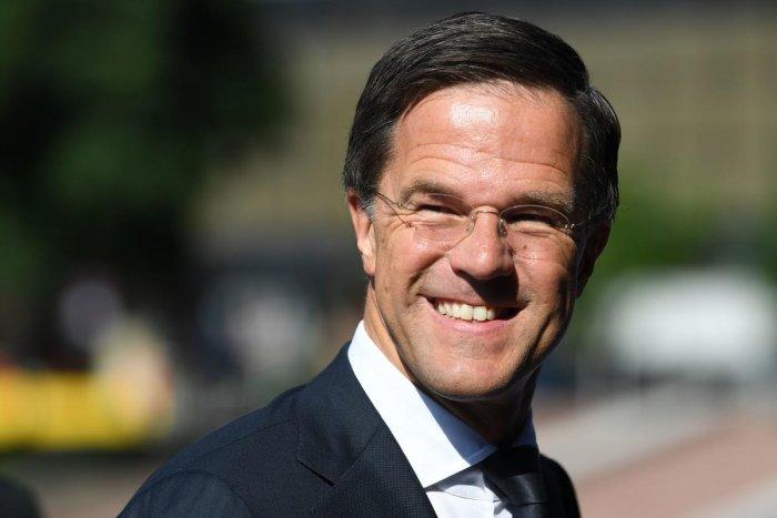 Netherlands' Prime Minister Mark Rutte