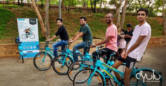 Hundreds Cycle The Rail To Office Last Mile Deccan Herald