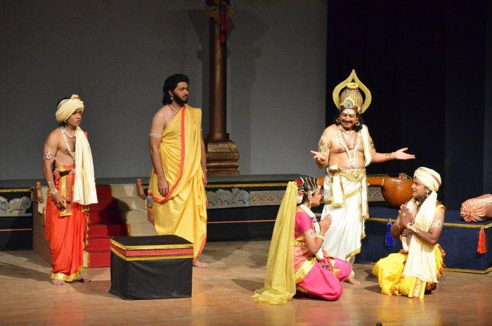 'Poulasthyana Pranaya Kathe' will be staged at K H Kalasoudha on May 27.