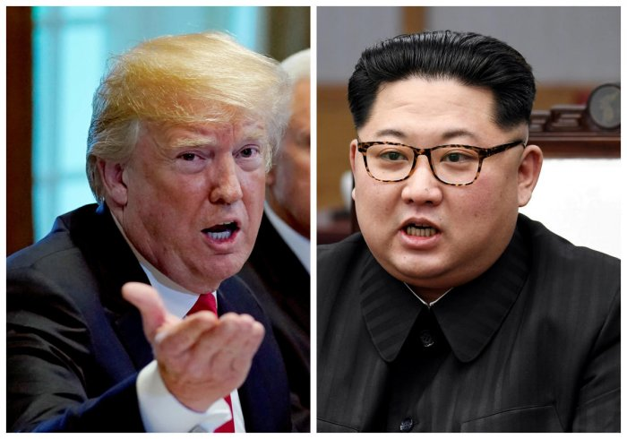 Trump's announcement came hours after North Korea carried out what it said is the demolition of its nuclear test site. Reuters file photo