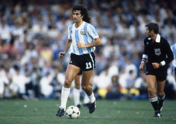 Mario Kempes was a revelation for Argentina netting six goals in the 1978 World Cup.