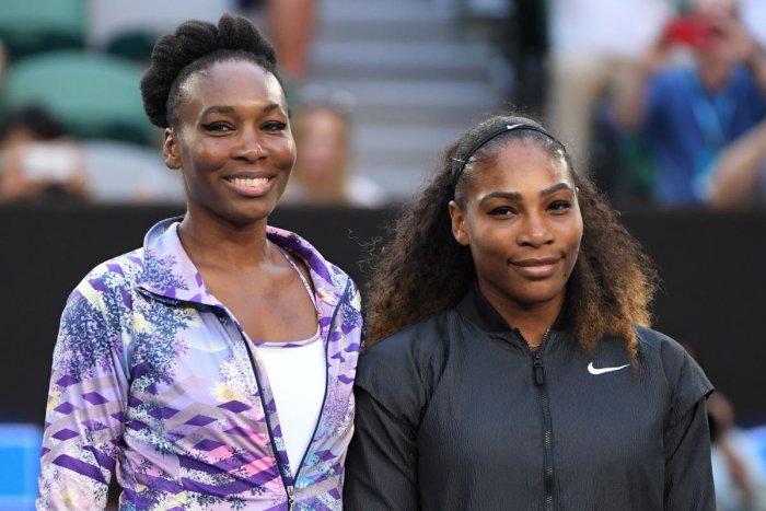 Venus (left) and Serena Williams