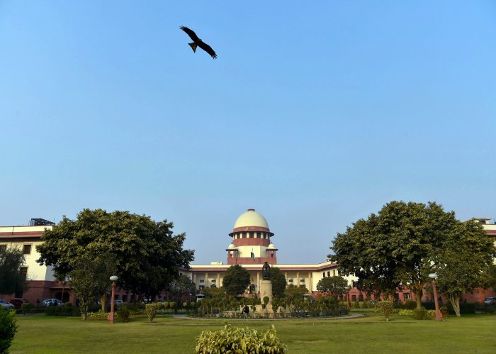 The SC said it was not inclined to interfere with the NGT's order keeping in abeyance its interim direction to publish a warning on the PVC pipes containing lead. PTI file photo