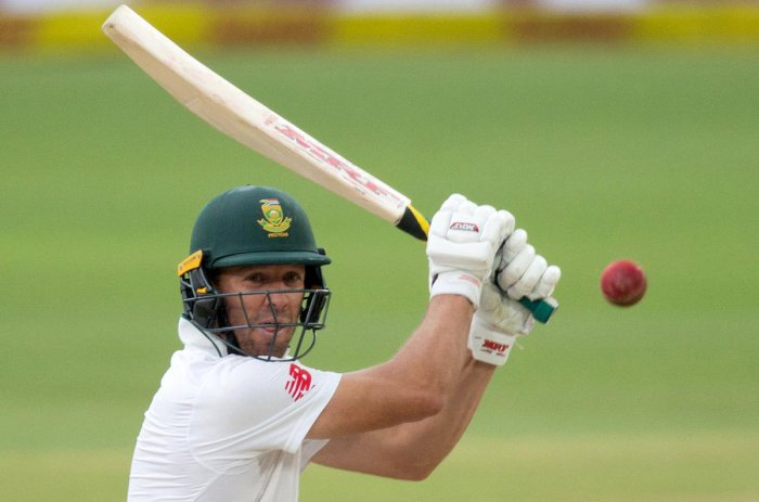 END OF A GREAT INNINGS: Nicknamed Mr 360, AB de Villiers delighted fans across the world with his electrifying shot-making. REUTERS