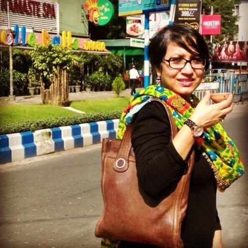 Tea artist Susmita Das Gupta