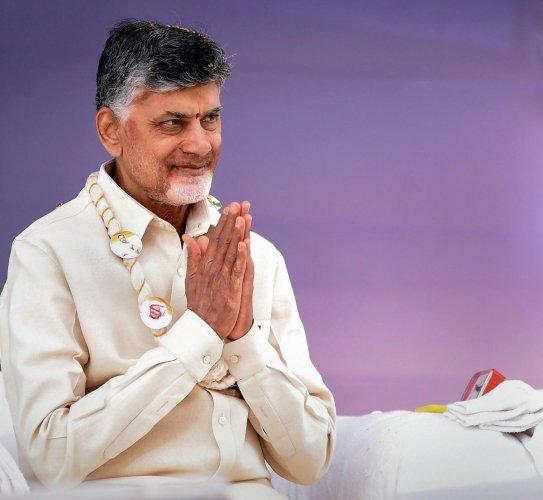 Andhra Pradesh Chief Minister N Chandrababu Naidu. PTI file photo