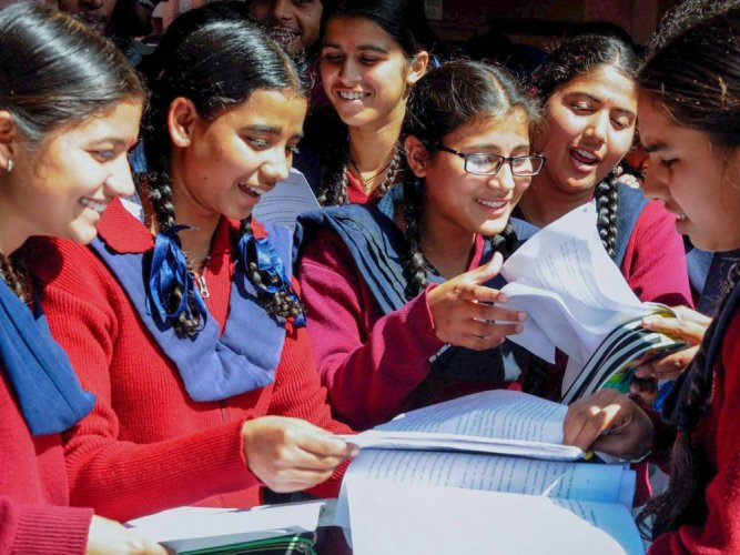 The Central Board of Secondary Education (CBSE) today announced that the results of Class 10 examinations will be declared tomorrow. PTI file photo