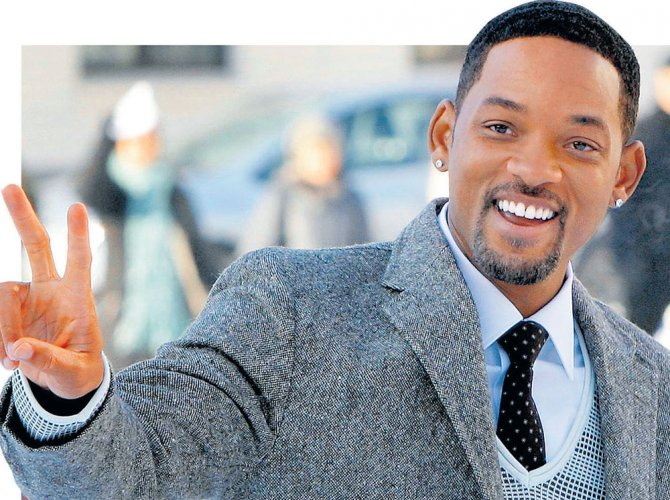 """Soccer's World Cup organisers divided fans by releasing the tournament's official song on Friday - a fast-paced dance tune titled """"Live It Up"""" featuring American actor and rapper Will Smith. File photo"""