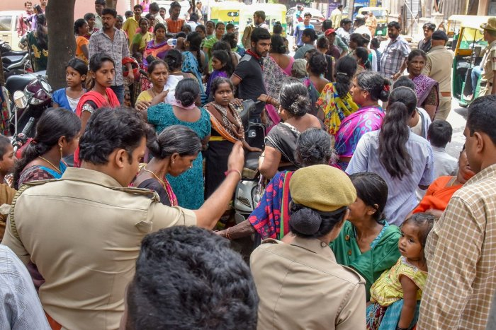 The Chamarajpet crowd that mistook a 26-year-old from Rajasthan for a kidnapper..